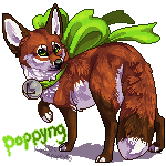 Fancy Fennec Fox by poppyng