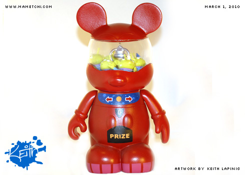 Vinylmation - The Claw Machine by Mametchi