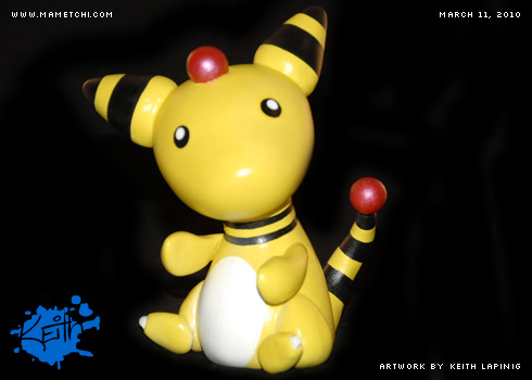 Vinyl Toy - Ampharos by Mametchi