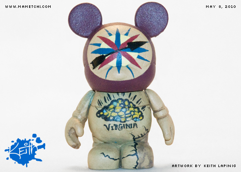 Vinylmation - Pocahontas 2 by Mametchi