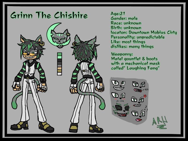 Character Draft: Grinn by arh-adrian17
