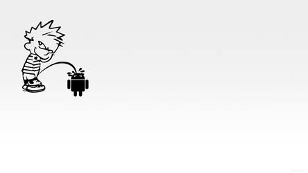 Apple Calves Peeing on Android by lasseman