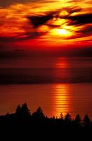 Marin Sunset by surrealswirls