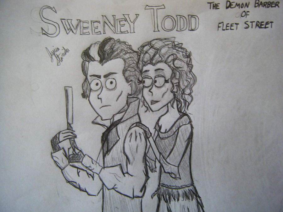 Sweeney Todd by jstaricka