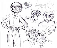 a little Anomaly sketchdump