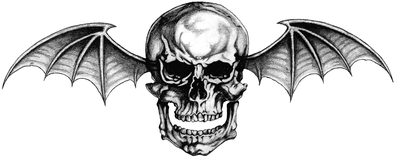 Avenged sevenfold logo 1 png deathbat by lightsinaugust