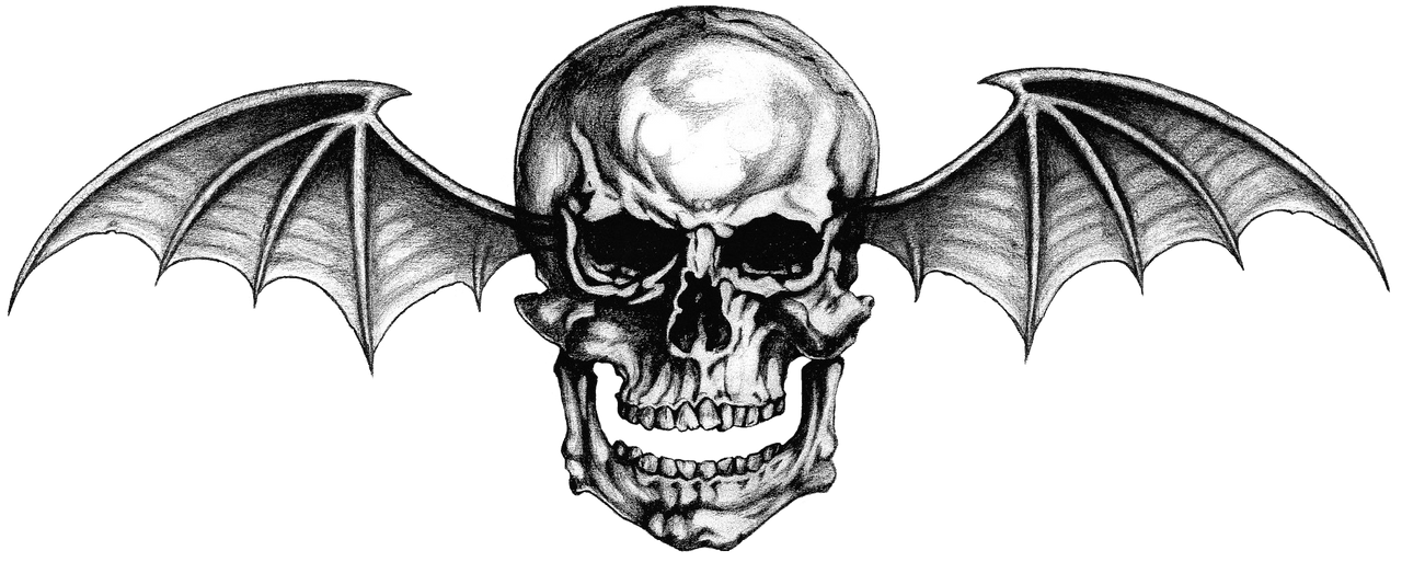 avenged sevenfold logo 1 png deathbat by lightsinaugust on deviantart. Black Bedroom Furniture Sets. Home Design Ideas