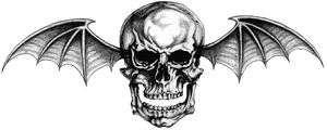 Avenged Sevenfold ~ Logo #1 (PNG) Deathbat
