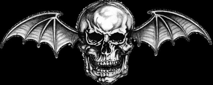 Avenged Sevenfold ~ Logo #1 (PNG) Deathbat by LightsInAugust