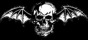 Avenged Sevenfold ~ Deathbat (Vector/PNG) B/W Logo