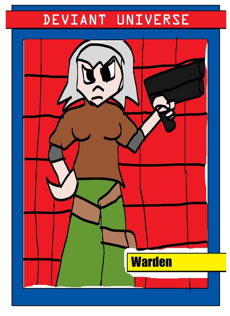 Warden DU by Weirdolod