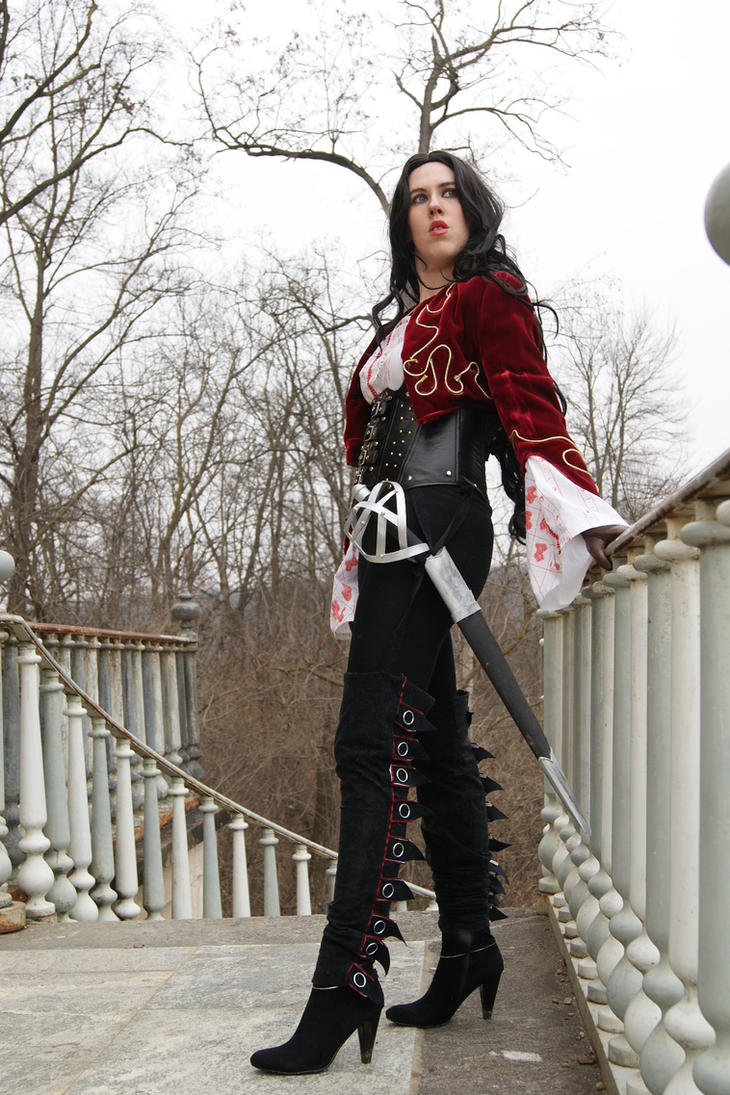 Cosplaying Anna Valerious From