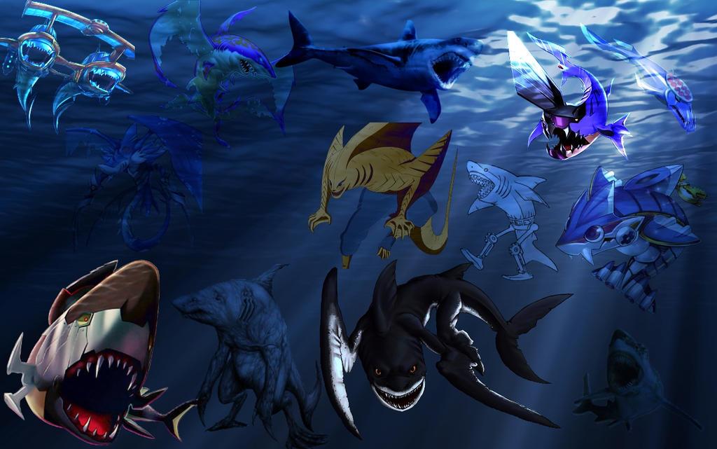 Devpro Shark Background by Maxxwell1