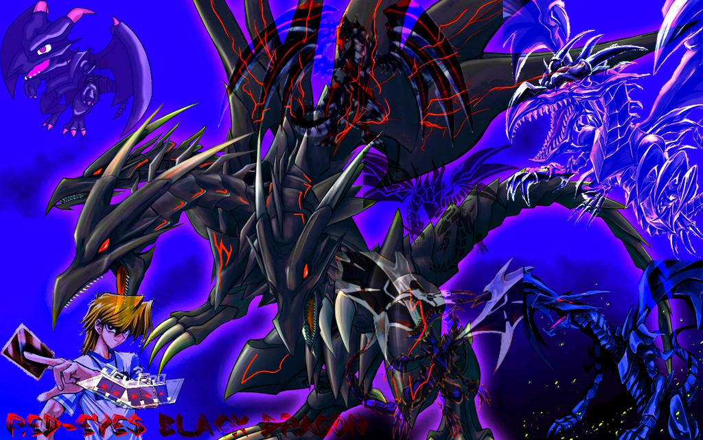 Red-Eyes Ultimate Dragon Ver.2 Devpro Background by Maxxwell1 ...