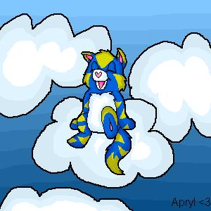 Snow the Care Bear by Apryl