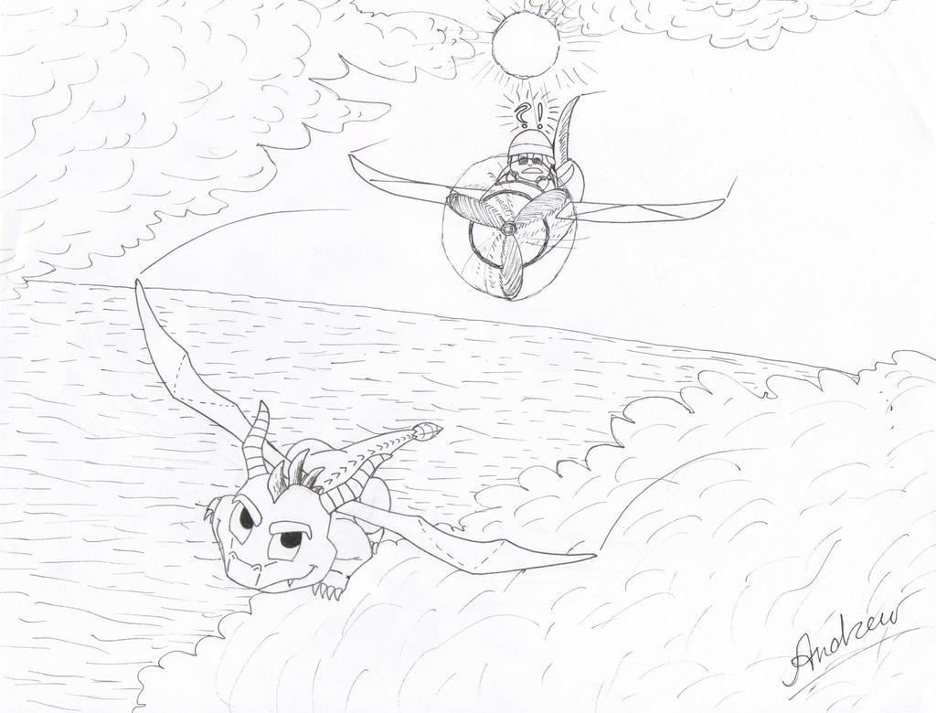 Sunny Flight (take 1) by KlarkKentThe3rd