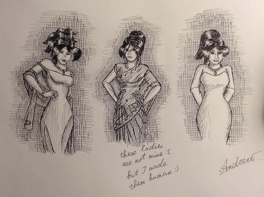 Evening Ladies (by JenissyCooper) remake by KlarkKentThe3rd