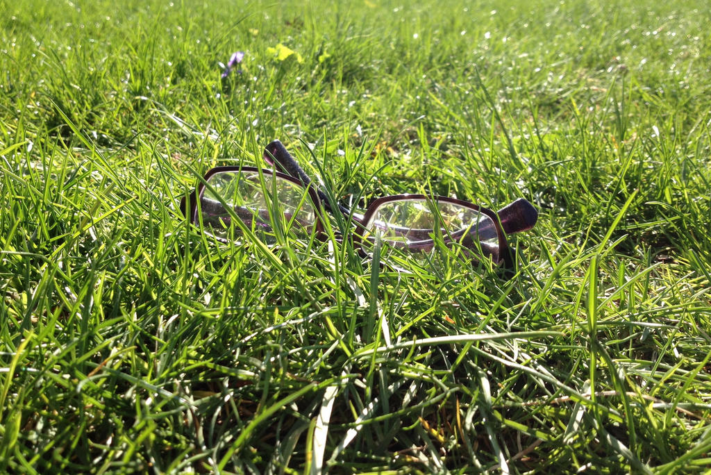 Lost Glasses by KlarkKentThe3rd
