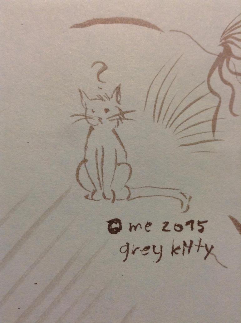 2015 Grey Kitty by KlarkKentThe3rd