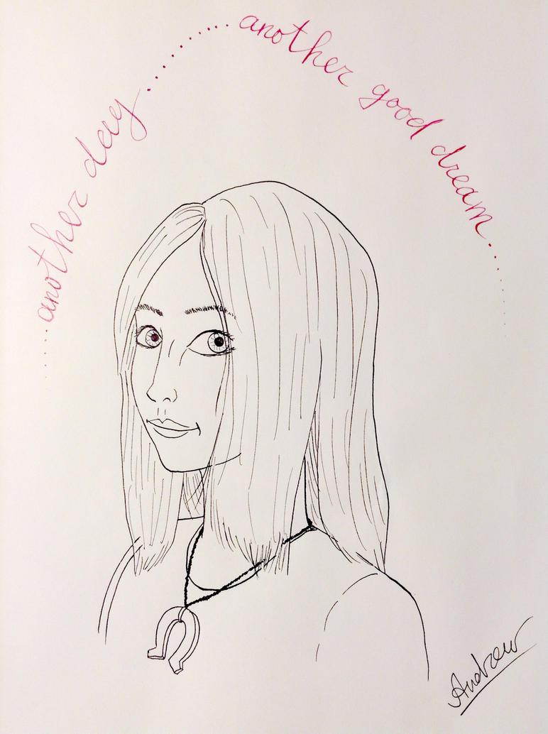 Inktober#28: American McGee's Alice WIP by KlarkKentThe3rd