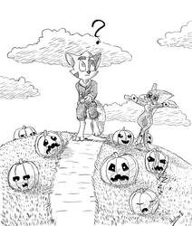 Mace Takes a Stroll on a Spoopy Hill by KlarkKentThe3rd