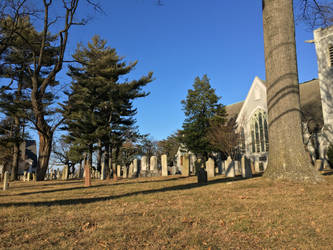 Just Your Average Quiet Cemetery at 3:30 PM