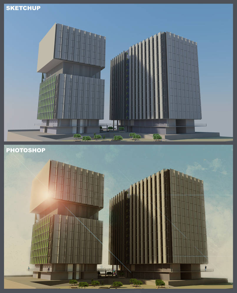 Post processing render in photoshop by DancingBees on DeviantArt