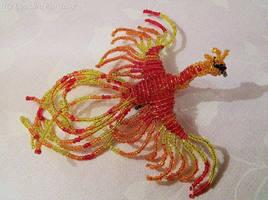 Beaded Phoenix by MyBeadedFantasy