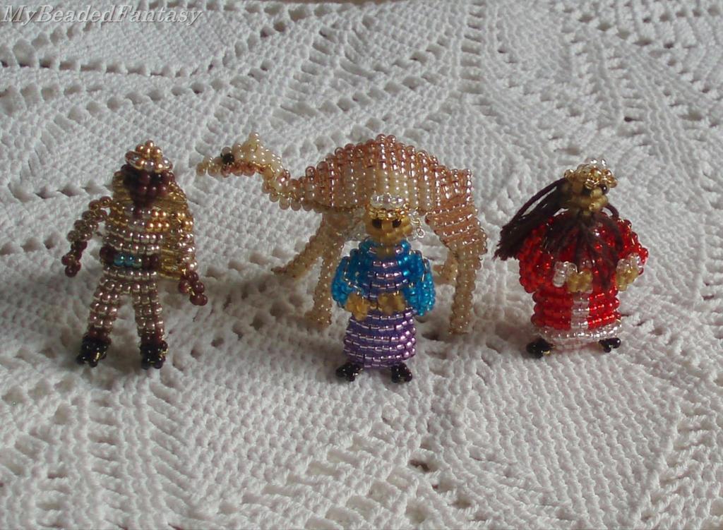 Beaded Three Kings by MyBeadedFantasy