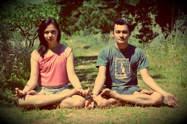 Meditation Time by Felie-Myorha