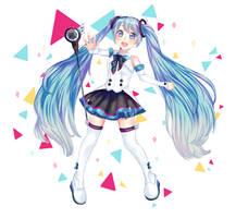 Miku magical mirai by NACCHAN96