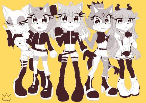 Girls Forces Squad