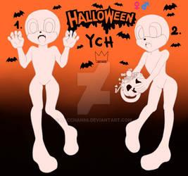 Sonic Halloween YCH