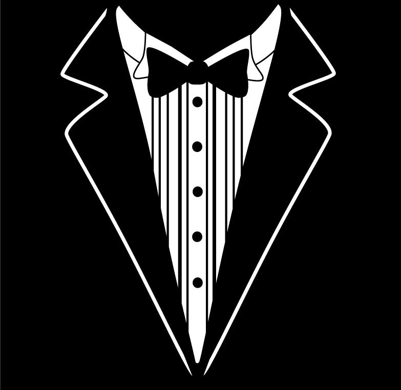 Tuxedo T-Shirt Design by EilonwySedai