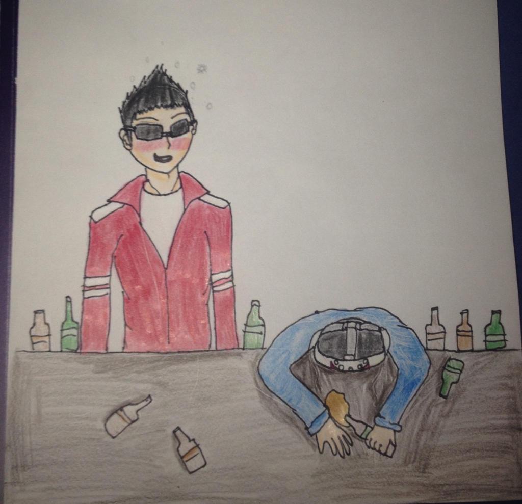 drunk vanoss delirious by kitkatemmy65 watch fan art traditional art ... H20 Delirious Fan Art