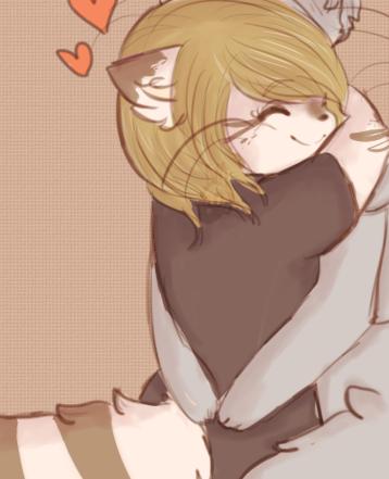 hug by viixens