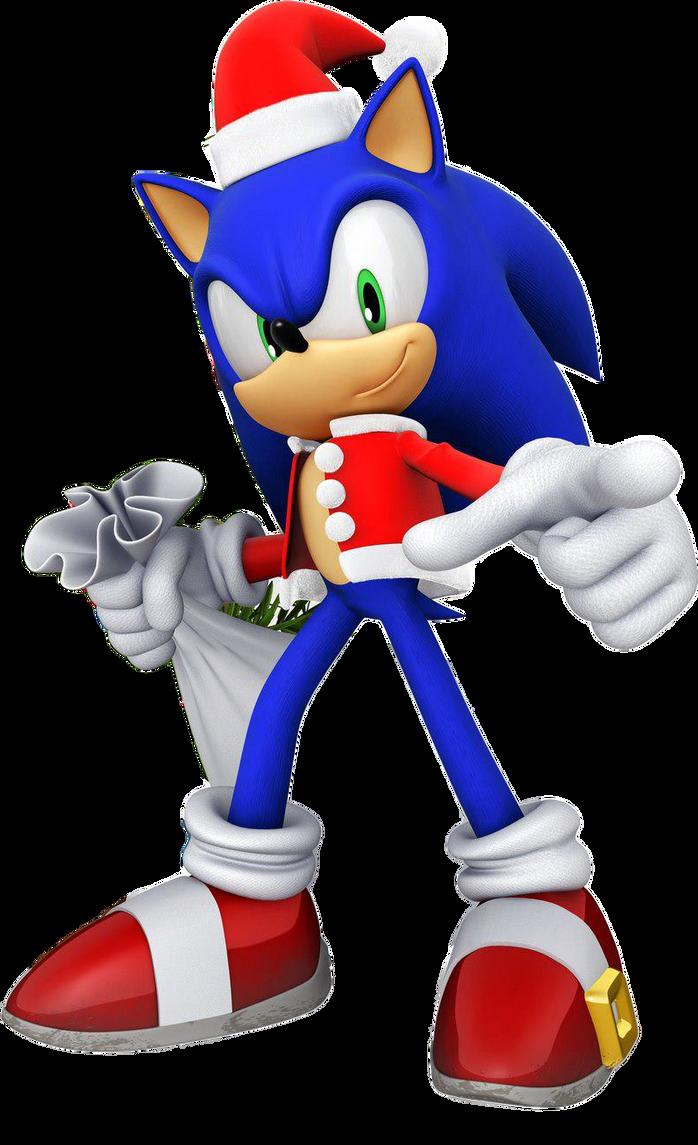 Sonic Xmas Render by ITSMELEON on DeviantArt