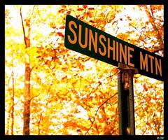 take me to sunshine mountain. by skyjmm65