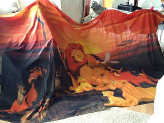 Lion King flag