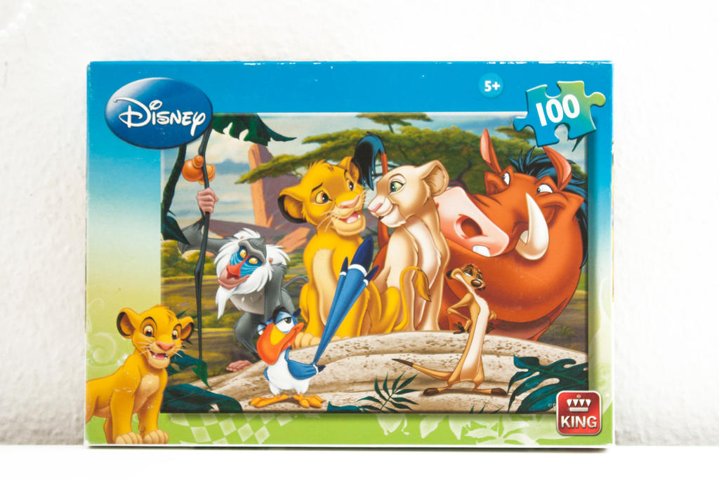 Lion king puzzle by Takadk