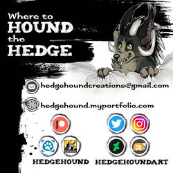Where to Find Me by HedgeHoundArt