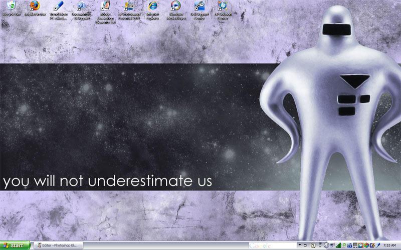 New EB desktop