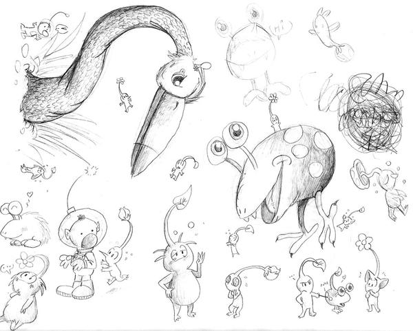 pikmin bulborb coloring pages - photo#1