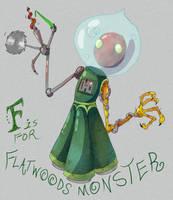 Alphabestiary - F by eternalsaturn