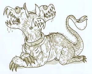 Cerberus doodle