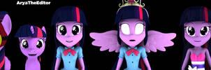 (Science and Princess) Twilight Sparkle by AryaTheEditor