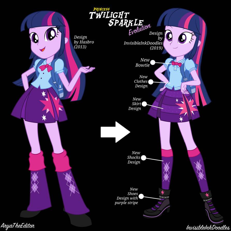 Princess Twi Evolution by AryaTheEditor