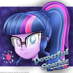 Powerful Sparkle by AryaTheEditor