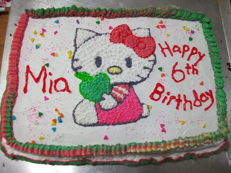 Mia S Hello Kitty Cake By Isisraven On Deviantart