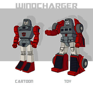 Sunbow-Style Toy-Accurate Windcharger